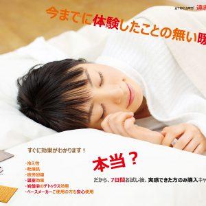 体験後、購入キャンペーン!11月1日~【遠赤・保湿温水マット】